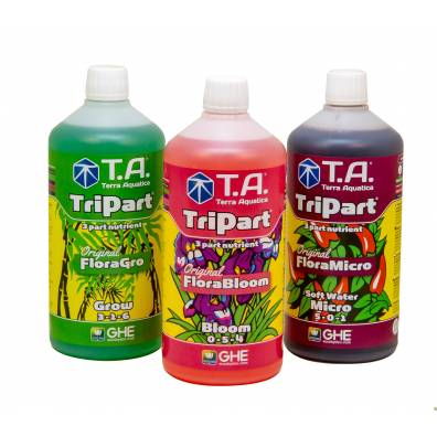 GHE TRIPART (hard) X3 Flora Series 500ML TERRA AQUATICA